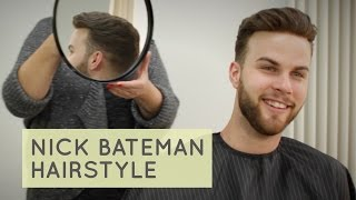 Nick Bateman Hairstyle 2016 / 2017 for Men | Der Trend Haircut mit Haarteil