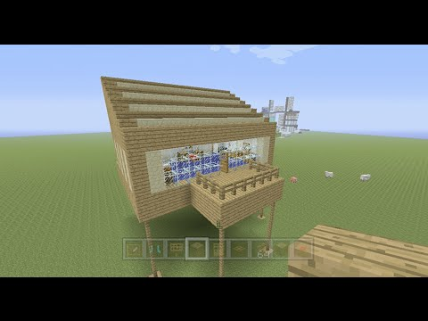 Building Stampy 39 S House 1 Bedroom Part 1 Of 2 Youtube