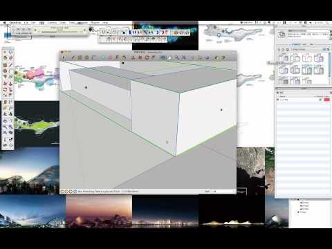 SketchUp Plugin FredoScale スケール 拡大縮小 Mac Install & Use Pt.1