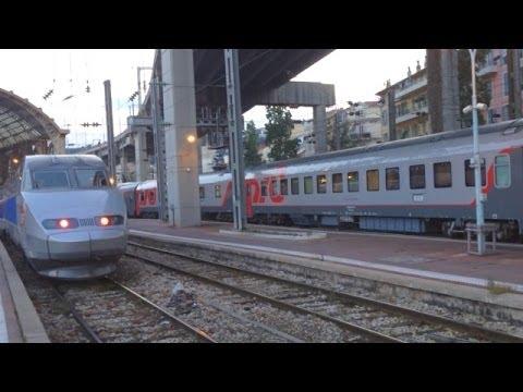 EuroNight Train Nice - Moscow, Поезд Ницца - Москва