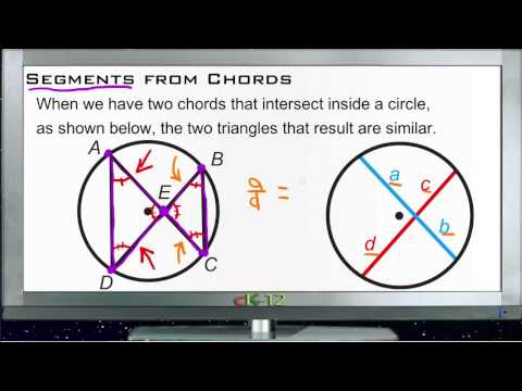 Segments from Chords Principles - Basic