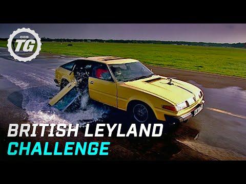 British Leyland Challenge Highlights - Top Gear - BBC