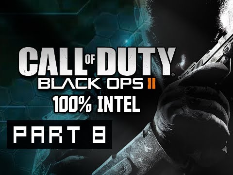 Call of Duty Black Ops 2 Walkthrough - Part 8 Wood's Revenge 100% Intel Campaign Gameplay