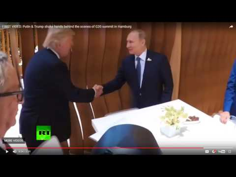 Body Language:  G20 Trump Putin