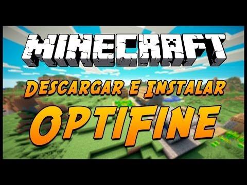 Como Descargar Optifine 1.7.2!! Facil y Rapido No Tener Lag !!
