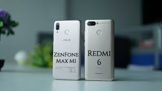 ASUS ZenFone Max M1 vs Xiaomi Redmi 6 Comparison - Specs, Camera, Features
