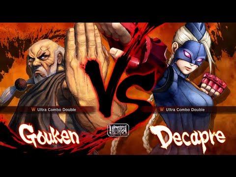 Ultra Street Fighter IV: Decapre vs Gouken