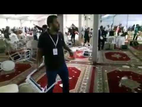 قربلة في مؤتمر حزب الاستقلال: عراك وصدام بين انصار شباط وولد الرشيد