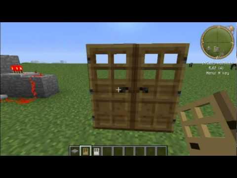 水狼的minecraft小教室-簡易BUD和打不開的鐵門