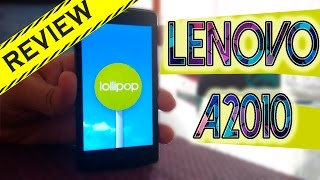 REVIEW LENOVO A2010 | Cosmo Android