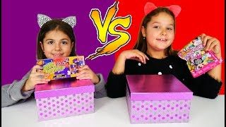 ARIADNI ARTEMI και BEAN BOOZLED 🆚 SQUISHY TOYS SWITCH UP CHALLENGE !!! #ARIADNISTAR
