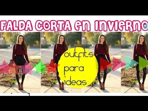 Tendencias: faldas cortas de moda Otoño/Invierno 2014