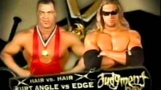 WWE Judgment Day 2002 Line Up