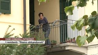 """Etg - Case comunali fatiscenti, i residenti: """"Siamo abbandonati"""""""