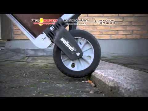 Ręczny wózek transportowy schodowy WOLFCRAFT TS 1500