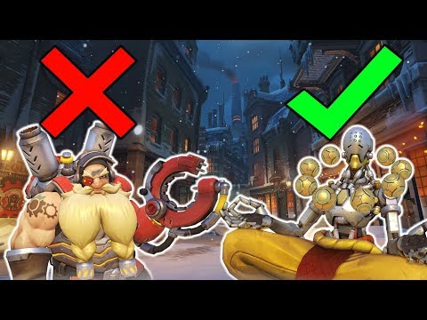 WHEN YOUR TORB PLAYER GOES 2ND HEALER - Overwatch