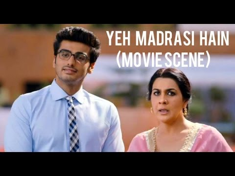 """2 States"" (Movie Scene) Yeh Toh Madrasi Hain | Alia Bhatt, Arjun Kapoor"
