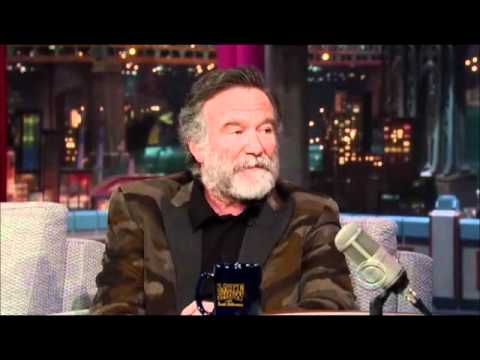 Robin Williams on Letterman 2011