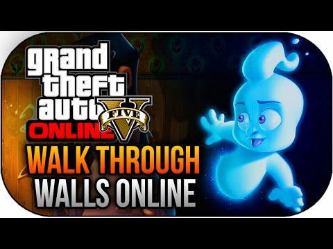 Gta 5 Online - New Insane Walk Through Walls Online Trick ! (gta 5 Online) video