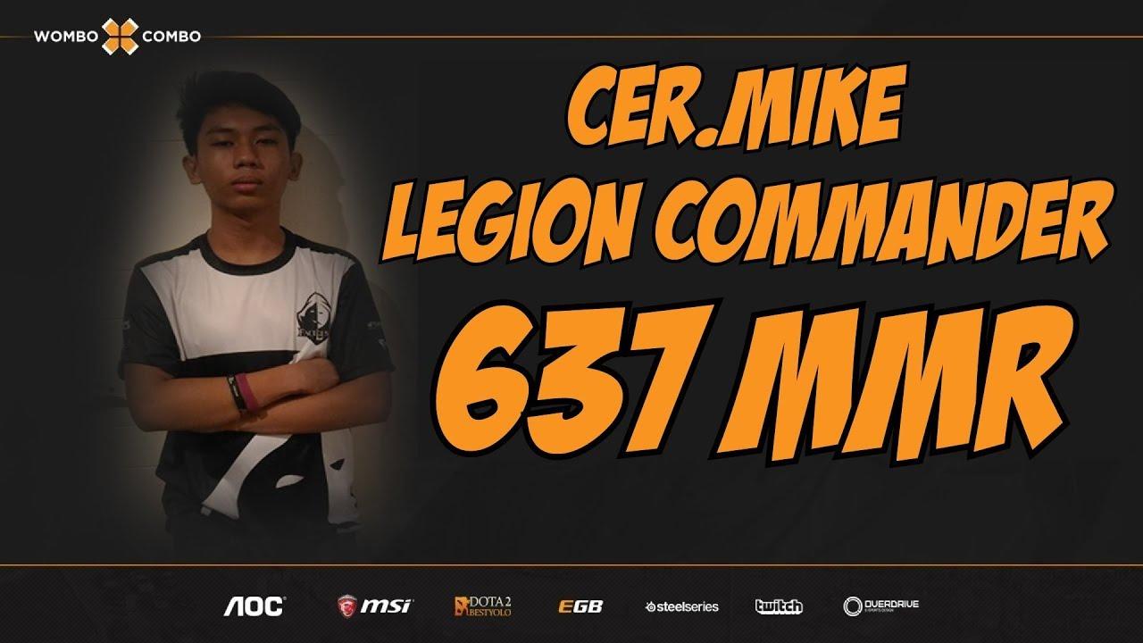 Cer.Mike.WxC Plays Legion Commander | High school Architect | 637 MMR Adventures