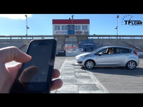 2014 Ford Fiesta takes on the new TFL Lightning Lap