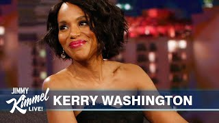 Kerry Washington on Will Ferrell, Broadway & Kanye West