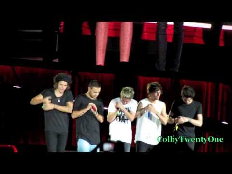 One Direction - Live While We're Young 080914 Gillette Stadium video