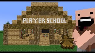 Player School: Beginning (Minecraft Animation)