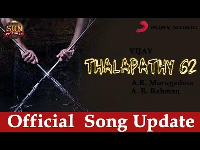 Official Thalapathy 62 Song:  Vijay | Keerthi suresh | A.R. rahman | Thala Ajith | Viswasam