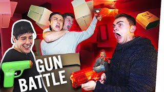 GUN BATTLE in 500 KARTONS! 💥
