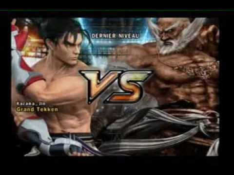 Tekken 5 - Gameplay Jin - By Kazama jin video
