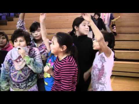 Lapwai Elementary School Post Performance Interview   October 12, 2011