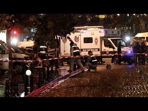 تركيا:عملية انتحارية في قلب استنبول أدت إلى وفاة شرطي و جرح آخر