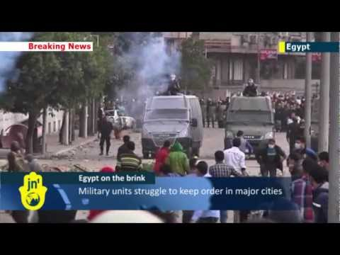 Islamist Egypt in flames: three more anti-Morsi protesters die in new nationwide clashes