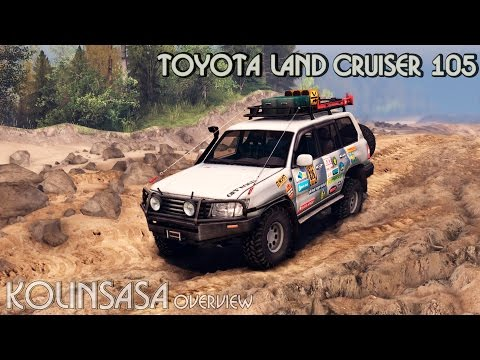 Toyota Land Cruiser 105 [25.12.15]
