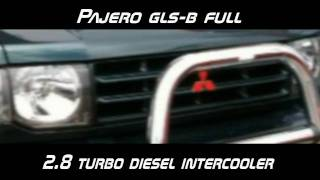 Pajero Full GLS-B in garage