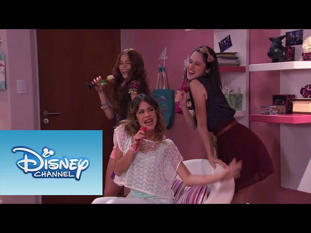 Violetta: Las chicas cantan ¨Cómo quieres¨ (Temp 2 Ep 44)