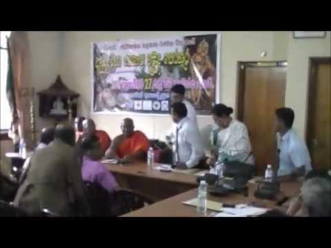 Geetha Kumarasinghe 2012 ( Slfp Leader Bentota -elpitiya) video