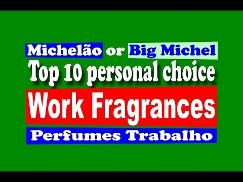 Dicas Perfumes Masculinos Trabalho Top 10 Work Fragrances - with subtitles