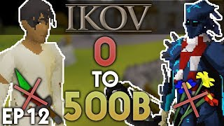 0 to 500B Without Staking on Ikov RSPS #12 - INSANE PURPLES! + 40B Giveaway!