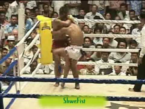 Myanmar Lethwei, Saw Shark vs Yan Gyi Aung
