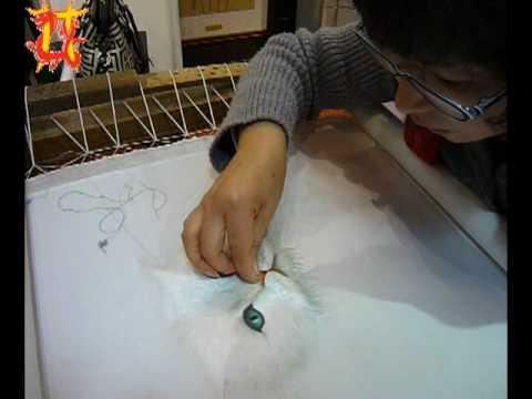 Китайская вышивка шелком по