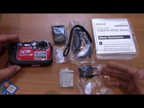 Fujifilm finepix xp200 обзор и распаковка
