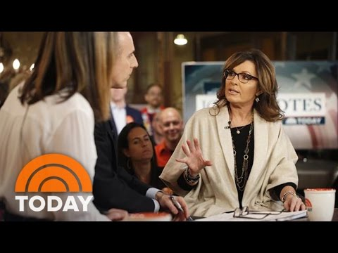 Sarah Palin Talks Support For Donald Trump, Comments On Obama And PTSD | TODAY
