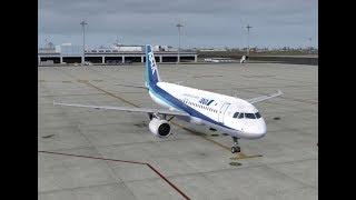【A320/B737/JAPAN】Tokyo/Haneda(RJTT) - Komatsu(RJNK)【P3D/FSX/VATSIM】