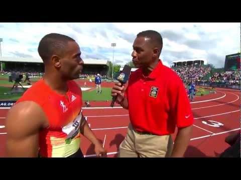 2012 Men's US Olympic 100m trials FINALS HD