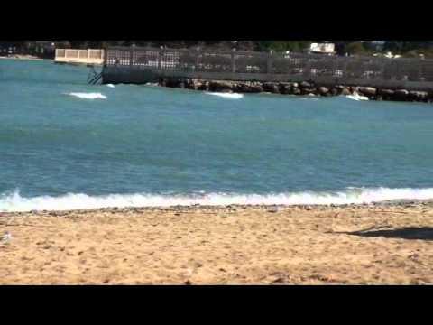 syria - lattakia - blue beach
