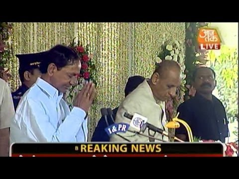 K Chandrasekhar Rao to be sworn-in as CM of Telangana