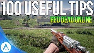 100 Red Dead Online Tips - RDR2 Tips & Tricks For Beginners