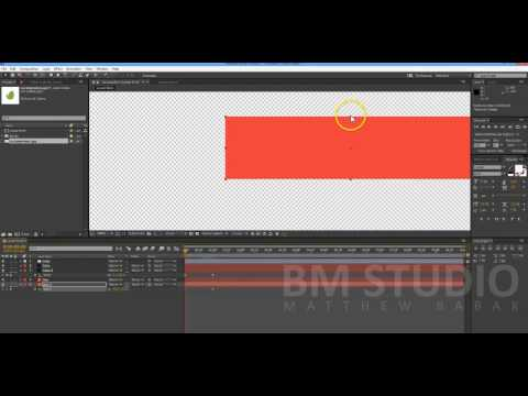 Как создать плашку в After Effects | how to create Lower Third in After Effects
